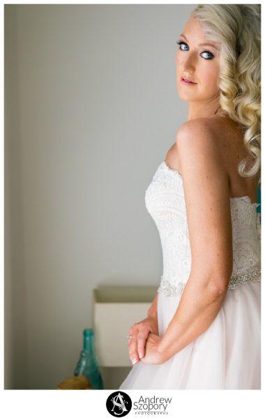 formal window lit portraits of bride