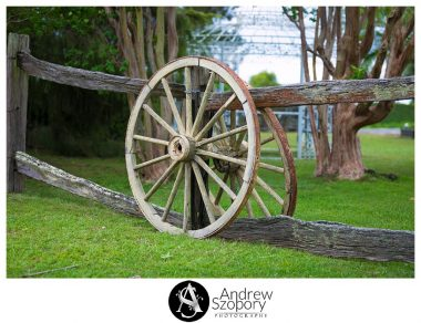 wagon wheel at Mulgoa valley receptions