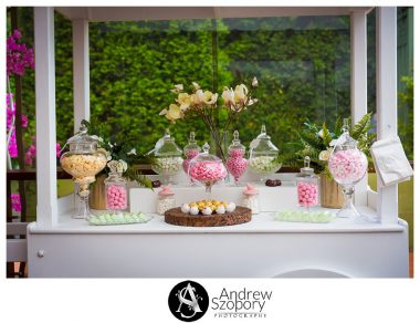 Reception detail of room at Mulgoa Valley Receptions