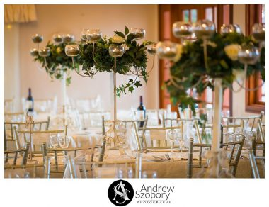 Reception detail of room at Mulgoa Valley Receptions table settings